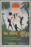"Movie Posters:Sexploitation, Sun Lovers Holiday (Astor Pictures, 1950s). One Sheet (27"" X 41"").Nudist Documentary...."