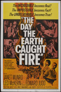 """Movie Posters:Science Fiction, The Day the Earth Caught Fire (Universal, 1962). One Sheet (27"""" X 41""""). Science Fiction...."""