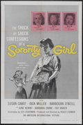 "Movie Posters:Bad Girl, Sorority Girl (American International, 1957). One Sheet (27"" X41""). Bad Girl...."