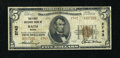 National Bank Notes:Maine, Bath, ME - $5 1929 Ty. 2 The First NB Ch. # 2743. ...