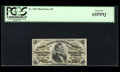 Fractional Currency:Third Issue, Five Different High-Grade Fessenden Numbers.... (Total: 5 notes)