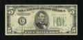 Fr. 1959-G* $5 1934C Federal Reserve Note. Very Good-Fine