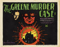 "Movie Posters:Mystery, The Greene Murder Case (Paramount, 1929). Title Lobby Card (11"" X14"")...."