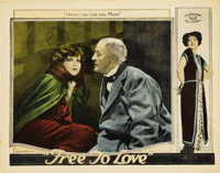 "Free to Love (Al Lichtman Corporation, 1925). Lobby Cards (2) (11"" X 14"").... (Total: 2 Items)"