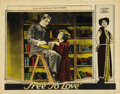 """Movie Posters:Melodrama, Free to Love (Al Lichtman Corporation, 1925). Lobby Cards (2) (11"""" X 14"""").... (Total: 2 Items)"""