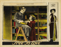"""Free to Love (Al Lichtman Corporation, 1925). Lobby Cards (2) (11"""" X 14"""").... (Total: 2 Items)"""