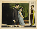 "Movie Posters:Melodrama, Free to Love (Al Lichtman Corporation, 1925). Lobby Card (11"" X14"")...."