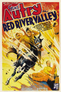 "Movie Posters:Western, Red River Valley (Republic, 1936). One Sheet (27"" X 41"")...."