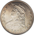 Bust Half Dollars: , 1813 50C 50C Over UNI MS62 NGC. O-101, R.2. A popular GuideBook variety with a blundered reverse. The UNI in UNITED wa...