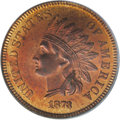 Proof Indian Cents: , 1873 1C Closed 3 PR65 Red PCGS. Bold N in ONE. At least 1,100 proof 1873 Indian cents were produced, all of which display a...