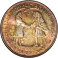 1936 50C Albany MS68 NGC. The 250th anniversary of Albany, New York's charter was the occasion for this commemorative is...