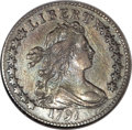 Early Dimes: , 1797 10C 16 Stars--Bent, Scratched, Cleaned--ANACS. XF45 Details.JR-1, R.4. An old bend does show around Liberty's neck a...