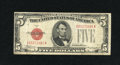 Small Size:Legal Tender Notes, Fr. 1528 $5 1928C Mule Legal Tender Note. Very Fine.. ...