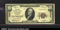 National Bank Notes:Kentucky, First National Bank of Ludlow, KY, Charter #5323. 1929 $10 Type...