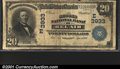 National Bank Notes:Maryland, Second National Bank of Bel Air, MD, Charter #3933. 1902 $20 Th...