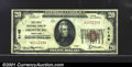 National Bank Notes:Maryland, First National Bank of Frostburg, MD, Charter #4149. 1929 $20 T...