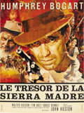 """Movie Posters:Drama, The Treasure of the Sierra Madre (Warner Brothers, R-1960s). FrenchPetite (23.5"""" X 31.5"""")...."""