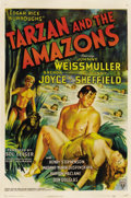 "Movie Posters:Adventure, Tarzan and the Amazons (RKO, 1945). One Sheet (27"" X 41"")...."