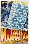 "Movie Posters:Drama, Tales of Manhattan (20th Century Fox, 1942). One Sheet (27"" X 41"")Style B...."
