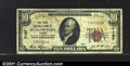 National Bank Notes:Oregon, First National Bank of Klamath Falls, OR, Charter #7167. 1929 $...