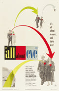 "Movie Posters:Academy Award Winner, All About Eve (20th Century Fox, 1950). One Sheet (27"" X 41"")...."