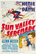 "Movie Posters:Musical, Sun Valley Serenade (20th Century Fox, 1941). One Sheet (27"" X41"")...."