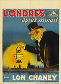 "London After Midnight (MGM, 1927). Pre-War Belgian (24.5"" X 33.5"")"
