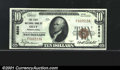 National Bank Notes:Pennsylvania, First National Bank of Oley, PA, Charter #8858. 1929 $10 Type O...