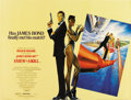 "Movie Posters:James Bond, A View to a Kill (United Artists, 1985). British Quad (30"" X40"")...."