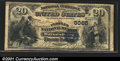 National Bank Notes:Pennsylvania, Peoples National Bank of Waynesburg, PA, Charter #5085. 1882 $2...