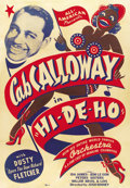 "Movie Posters:Black Films, Hi-De-Ho (All-American, 1947). One Sheet (27"" X 41"")...."