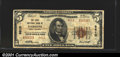 National Bank Notes:West Virginia, First National Bank of Parsons, WV, Charter #9610. 1929 $5 Type...