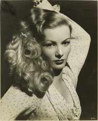 "Ramrod (United Artists, 1947). Veronica Lake Publicity Still by George Hurrell (7.5"" X 9.5"")"