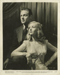 """Movie Posters:War, I Wanted Wings (Paramount, 1941). William Holden and Veronica LakePublicity Still (8"""" X 10"""")...."""