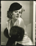 """Movie Posters:Miscellaneous, Jean Harlow Still (MGM, 1932). Proof Still by Clarence Bull (8"""" X10"""")...."""