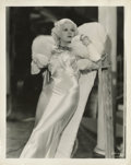 """Movie Posters:Comedy, Dinner at Eight (MGM, 1933). Jean Harlow Publicity Still by George Hurrell (8"""" X 10"""")...."""