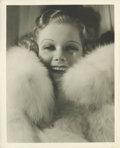 "Movie Posters:Drama, Riffraff (MGM, 1936). Jean Harlow Publicity Still by George Hurrell(8"" X 10"")...."