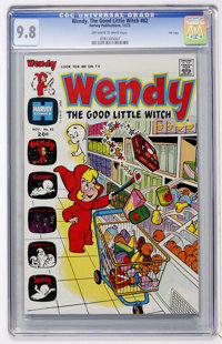 Wendy, the Good Little Witch #82 File Copy (Harvey, 1973) CGC NM/MT 9.8 Off-white to white pages