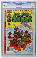 Modern Age (1980-Present):Humor, Sad Sack and the Sarge #150 File Copy (Harvey, 1981) CGC NM+ 9.6Off-white to white pages....