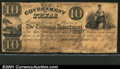 Miscellaneous:Republic of Texas Notes, 1838 $10 Government of Texas, Cr-H17, VG-Fine, CC. A pleasing e...