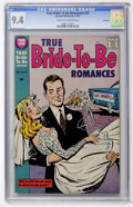 Silver Age (1956-1969):Romance, True Bride-to-Be Romances #27 File Copy (Harvey, 1957) CGC NM 9.4Cream to off-white pages....