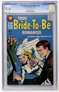 Silver Age (1956-1969):Romance, True Bride-to-Be Romances #28 File Copy (Harvey, 1958) CGC NM 9.4Cream to off-white pages....