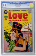 Silver Age (1956-1969):Romance, True Love Problems and Advice Illustrated #41 File Copy (Harvey, 1956) CGC NM 9.4 Cream to off-white pages....