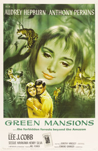 """Green Mansions (MGM, 1959). One Sheet (27"""" X 41"""")"""