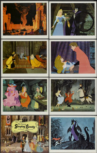 "Sleeping Beauty (Buena Vista, 1959). International Lobby Card Set of 8 (11"" X 14""). Animated.... (Total: 8 Ite..."