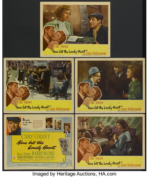 815ca5909 None But The Lonely Heart (RKO, 1944). Title Lobby Card and Lobby ...