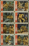 """Movie Posters:War, None But the Brave (Warner Brothers, 1965). Lobby Cards (8) (11"""" X14""""). War.... (Total: 8 Items)"""