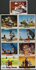 "Movie Posters:Animated, Song of the South (Buena Vista, R-1972). Lobby Card Set of 9 (11"" X14""). Animated.... (Total: 9 Items)"
