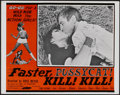 """Movie Posters:Adult, Faster, Pussycat! Kill! Kill! (Eve Productions, 1965). Lobby Card (11"""" X 14""""). Adult...."""