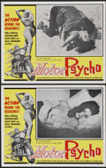 "Movie Posters:Cult Classic, Motor Psycho! (Eve Productions, 1965). Lobby Cards (2) (11"" X 14""). Cult Classic.... (Total: 2 Items)"